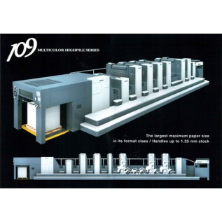 Купить оборудование для офсетной печати SHINOHARA 109 high-pile В3 формат