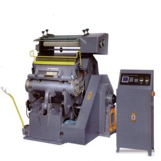 Тигельный позолотно-высекальный  пресс полуавтомат Victoria TYMВ 750