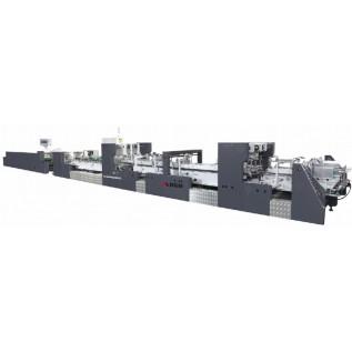 Фальцевально склеивающая линия DGM TF-100PC для производства коробок в фармацевтической, пищевой, легкой и др. промышленности