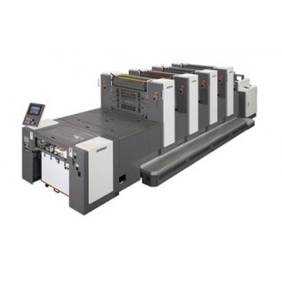 SHINOHARA 66 M-P 2D Листові офсетні друкарські машини індустріального класу з друкарськими та перед друкарськими циліндрами подвійного діаметра