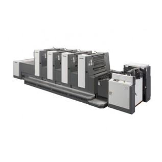 SHINOHARA 75 M-P 2D. Листові офсетні друкарські машини індустріального класу з друкарськими та поперед друкарськими циліндрами подвійного діаметру формату В2 (510 x 740 мм).