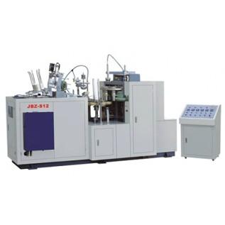 Машина для производства одноразовых бумажных стаканчиков Victoria JBZ-S. Для горячих напитков с агрессивными компонентами