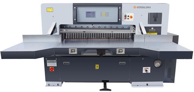 купить бумагорезательную машина Sterling-K130D Бумагорезательная машина купить, бумагорезательная купить со склада в Украине,