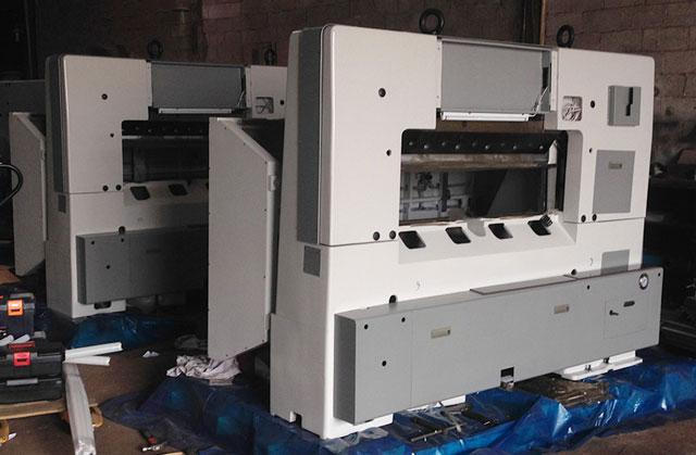 Купить бумагорезательную машину STERLING-K130D по низкой цене, со склада. Доставка по Украине +38 (067) 575-81-98